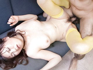 Adorable Naho Kojima is one insatiable Japanese babe